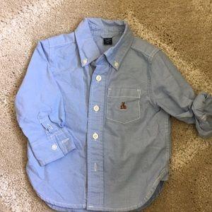 Baby GAP boys button down shirt